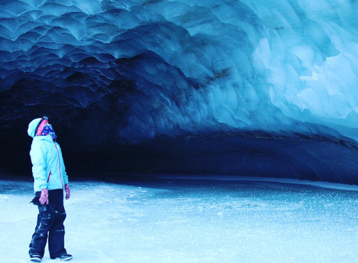Exploring Castner Glacier, Alaska