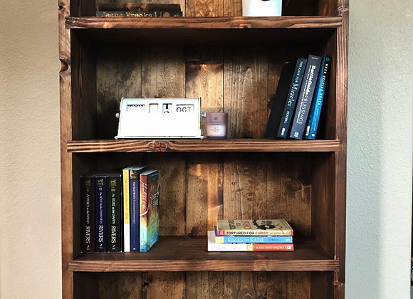 Concealed Rifle Bookcase