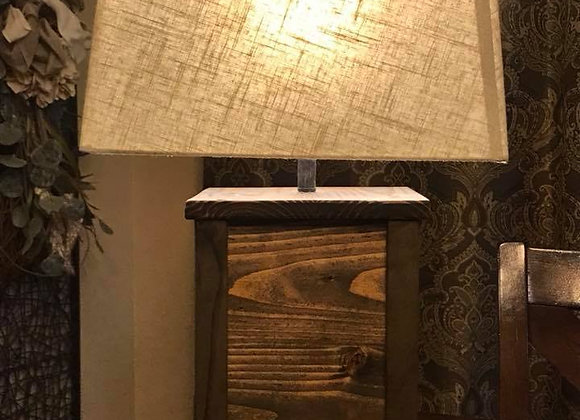 Concealed Handgun Table Lamp