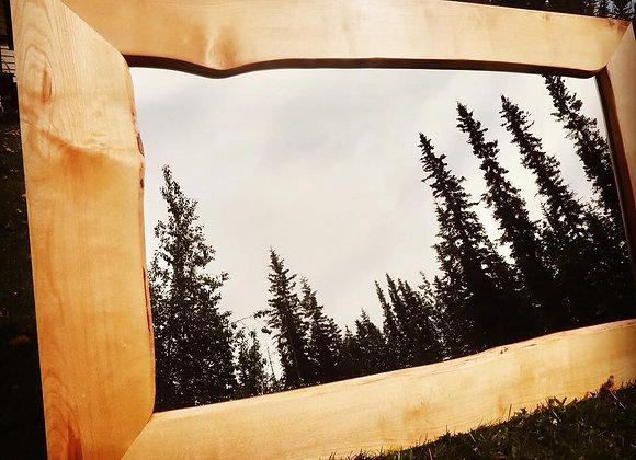 Alaska Birch Live Edge Mirror