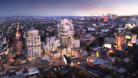 Judge puts Frank Gehry-designed WeHo development on hold