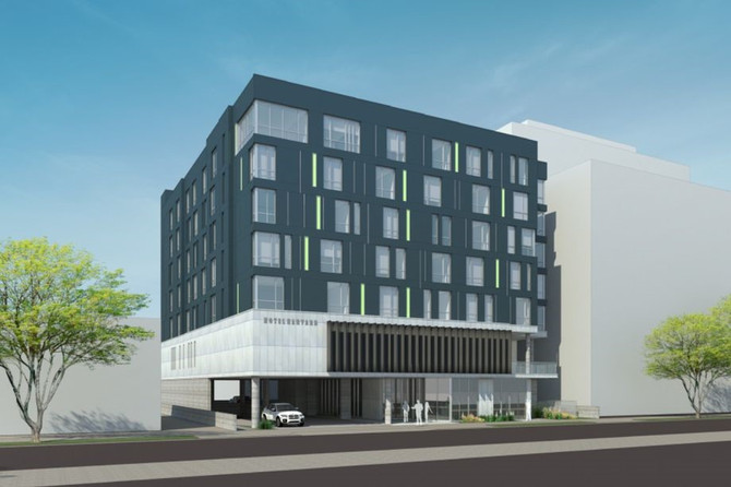 Updated: Seven-story Koreatown hotel sent back to Planning Commission