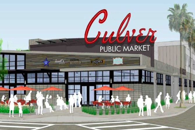 Take a look at the new food hall planned for Culver City