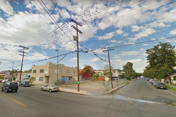 Five-story apartment complex planned for a vacant lot in North Hollywood