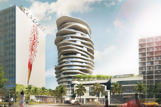 Sunset Strip could get a whimsical 19-story hotel tower