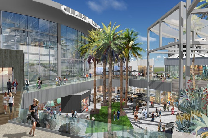 Promenade at Howard Hughes Center makeover set to wrap up in 2018