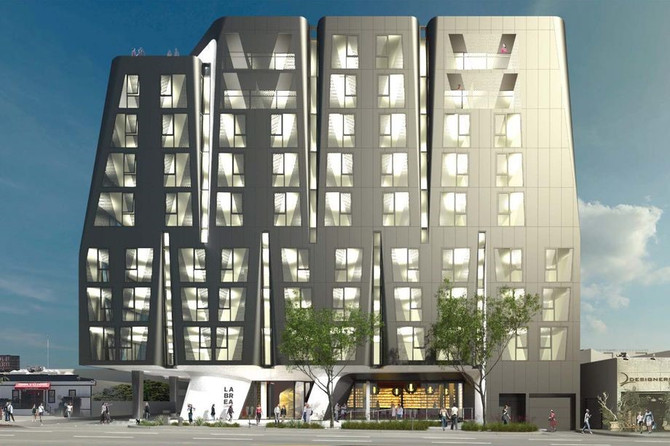 West Hollywood's Eastside could get a nine-story hotel
