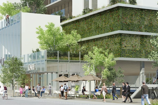 New Beatrice West: New renderings of Frank Gehry-designed Playa Vista office building
