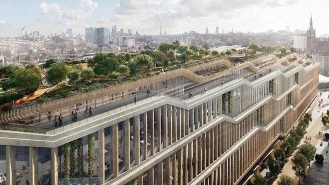 Take a look at the plans for Google's new 1 million-sf London campus!