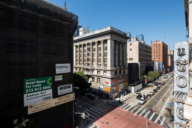 DTLA's Merritt Building to become offices and retail