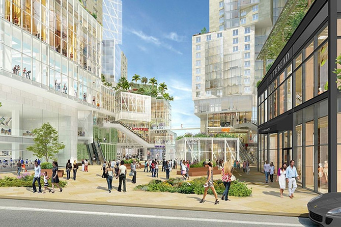 Frank Gehry-designed Grand Avenue project files for building permits