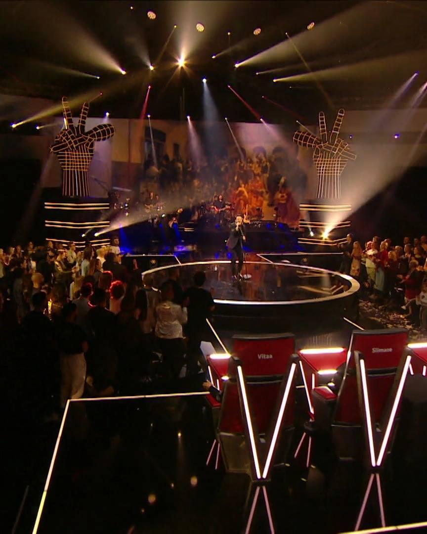 Matteo Terzi - 'Jeune et con' | The Voice Belgique