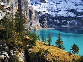 Oeschinensee im Berner Oberland