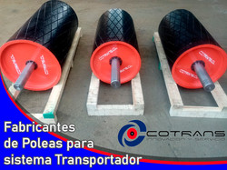 Poleas transportadoras Cotrans