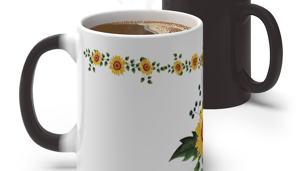 Sunflower- Color Changing Mug