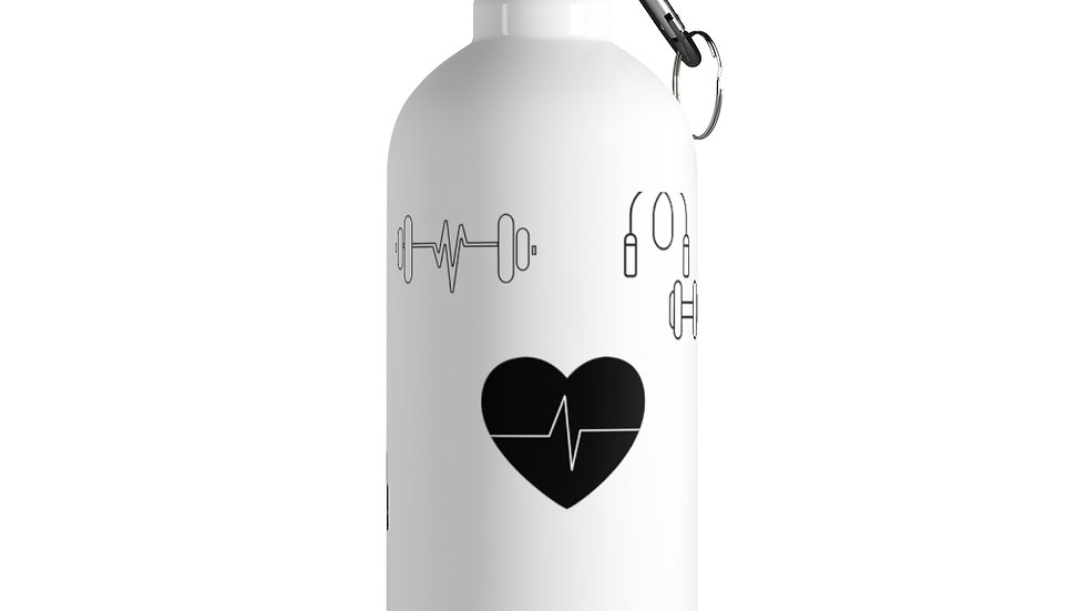 Stainless Steel Water Bottle x Fitness Journey