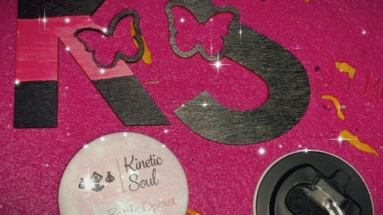 Kinetic Soul Fridge Magnet/Bottle Opener