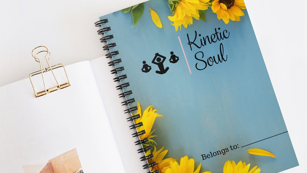 Sunflower Spiral Notebook - Ruled Line
