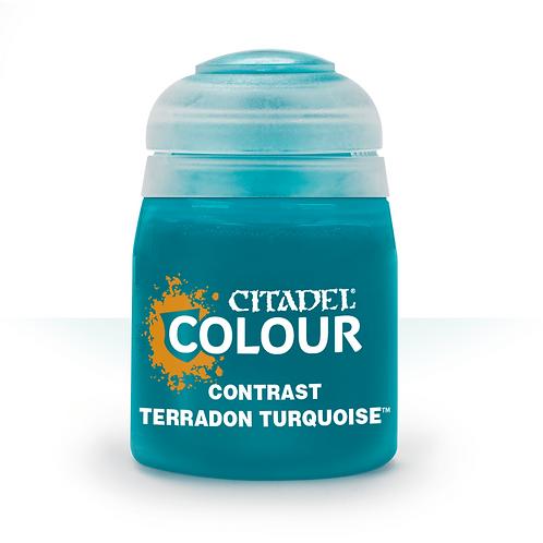 コントラスト: Terradon Turquoise