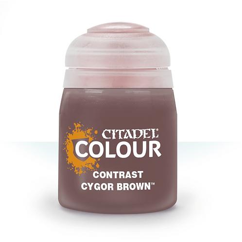 コントラスト: Cygor Brown