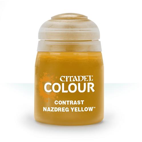 コントラスト: Nazdreg Yellow