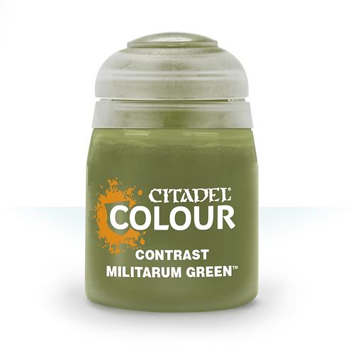 コントラスト: Militarum Green