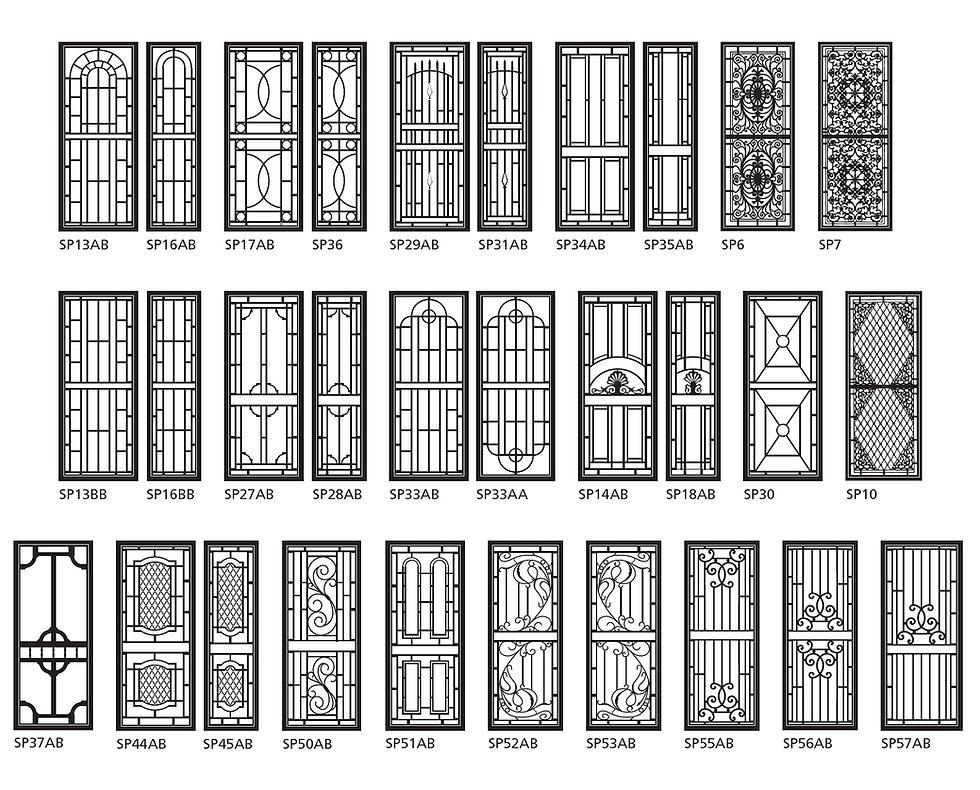 Heritage-Designs-Product-Options-Door-Designs-Prowler-Proof-Brisbane-Security-Screens-Chalmers-Security-Installations