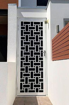 Block City | Decoview Laser Cut Screen | Chalmers Security Installations