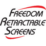 Freedom-Retractable-Screens-Logo-Dealer-Brisbane-Chalmers-Security-Installations
