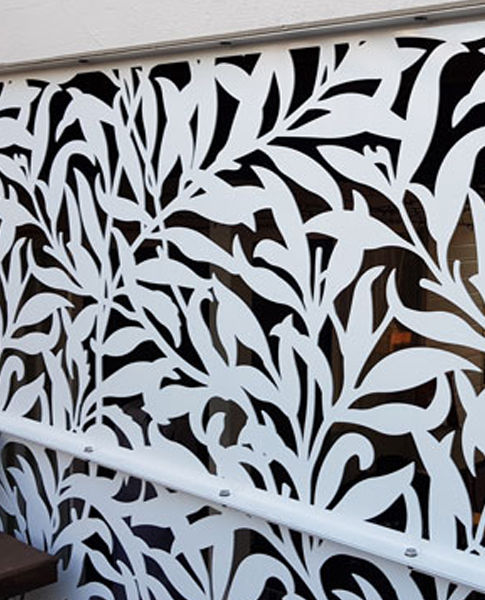 WILLOW | Decoview Laser Cut Decorative Screen | Chalmers Security Installations
