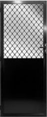 Solid-Panel-Door-Options-Diamond-Designs-Traditional-Welded-Grilles-Prowler-Proof-Authrsed-Dealer-Chalmers-Security-Installations-Brisbane-Screen-Installer