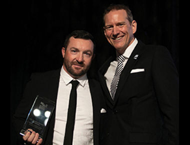 Stephen-Chalmers-Security-Installations-Director-Michael-Henry-NSSA-Chairman-Award-Ceremony-2019-Design-Award-Winner-Prowler-Proof-Installer-Brisbane