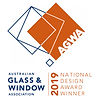 AGWA-Australian-Glass-Window-Association-Logo-2019-Design-Award-Winner-Hinge-Window-Prowler-Proof-Chalmers-Security-Installations-Brisbane