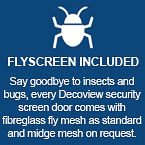 Flyscreen | Features | Decoview Decorative Security Screens | Chalmers Security