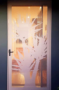 Pandanus | Decoview Perforated Screen | Chalmers Security Installations