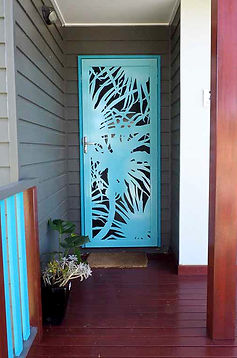 Pandanus | Decoview Laser Cut Screen | Chalmers Security Installations