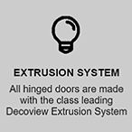 Extrusion System | Features | Decoview Decorative Security Screens | Chalmers Security Installations | Brisbane