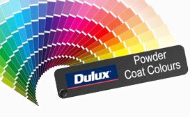 DULUX | Powder Colour Coatings | Decoview | Chalmers Security Installations