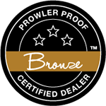 Prowler-Proof-Bronze-Certified-Dealer-Logo-Brisbane-Security-Installer-Chalmers-Security-Installations