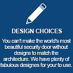 Design Choices | Features | Decoview Decorative Security Screens | Chalmers Security