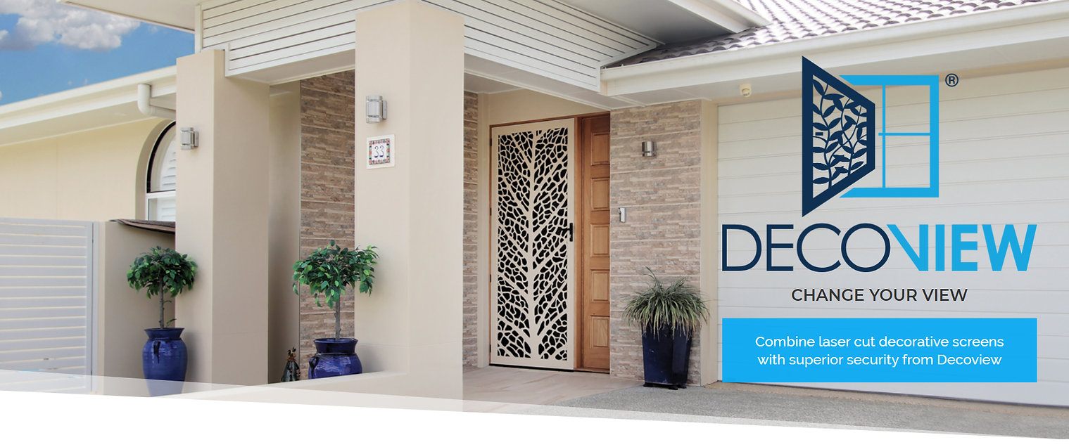 Decoview Laser Cut Security Screen | Chalmers Security Installations | Brisbane
