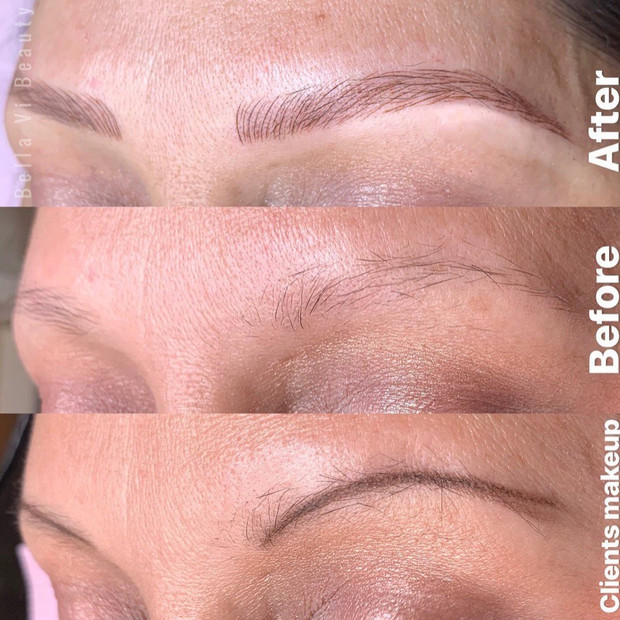 Microbladed Eyebrow