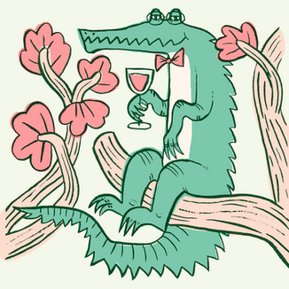 Sophisticated Crocodile