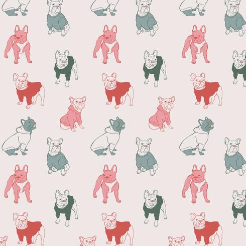 Frenchie Pattern