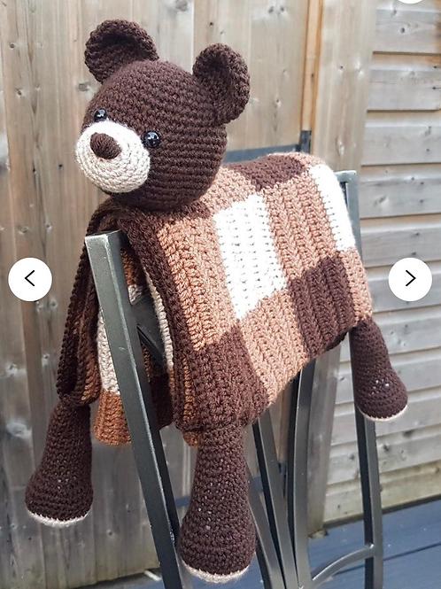 Animal Stitched Blanket