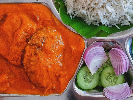 Goan Raw Mango Fish Curry