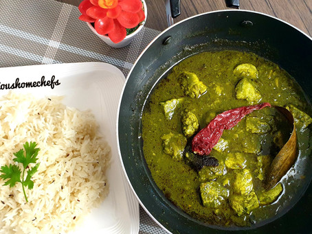 Healthy Palak Paneer without Cream