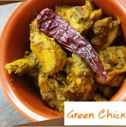 Green Chicken Roast