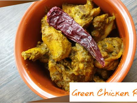 Easy Green Chicken Roast Recipe!