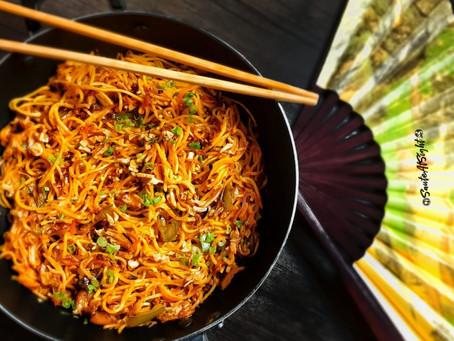 Chicken Chilli Garlic Noodles